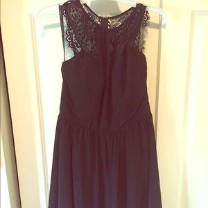 Black bridesmaid dress
